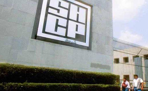 Reporta SHCP que se desplomaron ingresos del sector público en noviembre