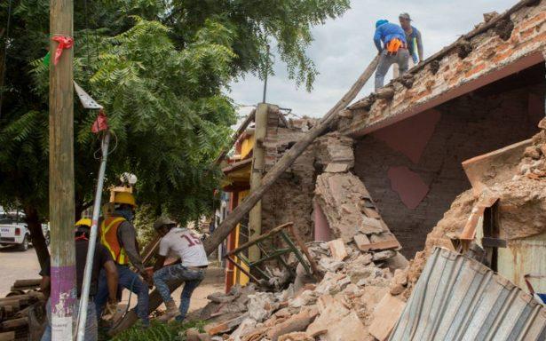 CNDH solicita medidas cautelares durante reconstrucción tras sismo del 19-S