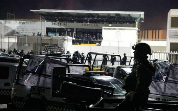 Siete policías muertos deja motín en penal de Amatlán, Veracruz