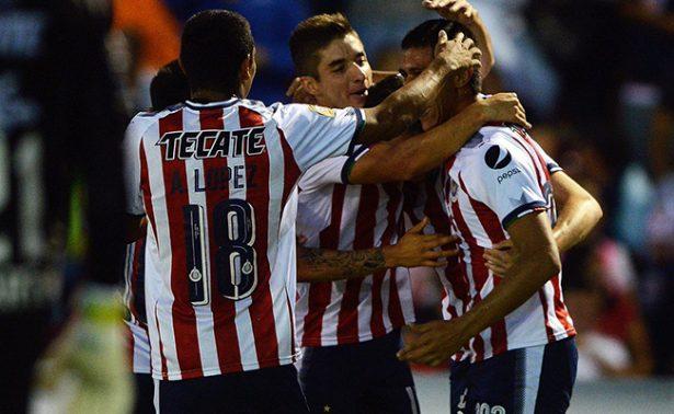 Triunfo sufrido de Chivas en la Copa MX