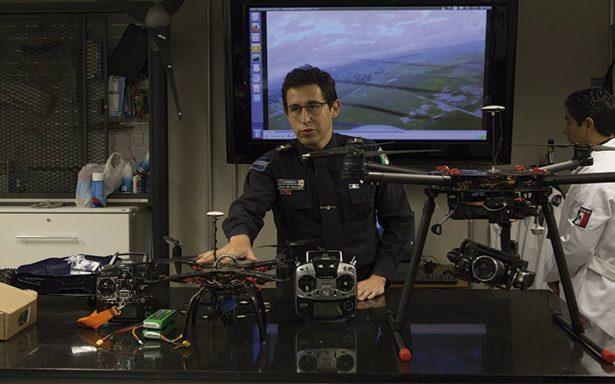 Vigilarán con drones centro histórico de San Luis Potosí
