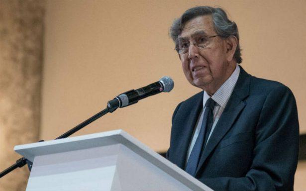 Cuauhtémoc Cárdenas descarta colaborar con alguno de los candidatos presidenciales