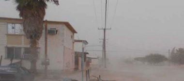 Vientos de hasta 70 Km/h azotaron a  San Luis Río Colorado