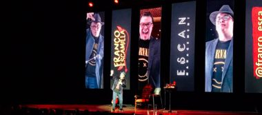 "Franco Escamilla llega a la pantalla grande con su ""Stand Up Comedy"""