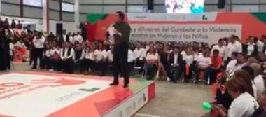 Osorio Chong pide terminar con violencia contra mujeres y denunciar a los agresores