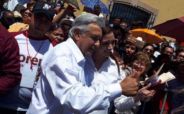 AMLO advierte que PRI y PAN usan misma guerra sucia que Calderón le lanzó en 2006