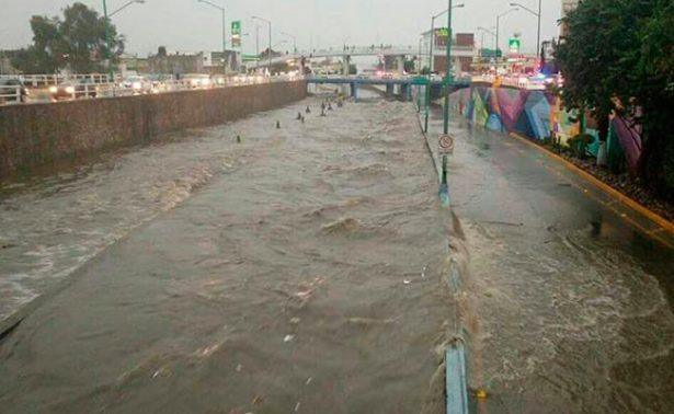 Lluvias generan caos en la ciudad de León, Guanajuato