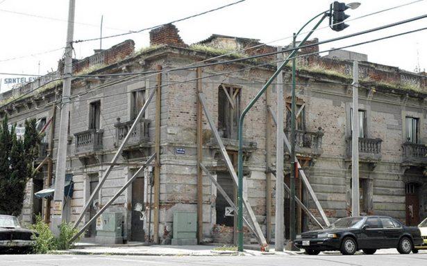 Asambleístas buscan reforzar edificios antiguos de la capital