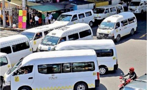 Transportistas del Edomex acuerdan aumento al pasaje