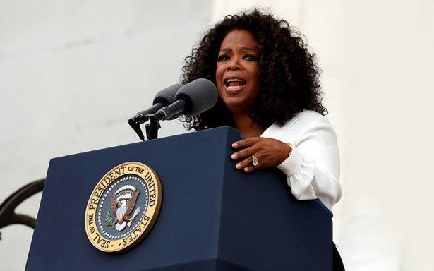 '¡Oprah para presidenta!': Hollywood y fans le piden candidatura tras discurso en los Globos de Oro