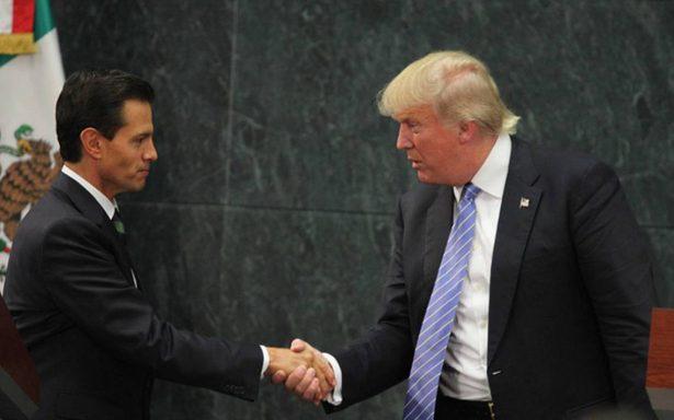 Trump recibe llamada de Peña Nieto; le expresa condolencias por tiroteo en Las Vegas