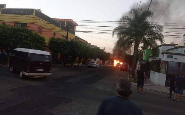 Tras balacera en Guadalajara reportan bloqueos en área metropolitana