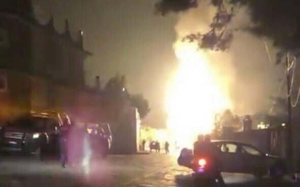 Explotan tres pipas de gas en Tepotzotlán, Edomex