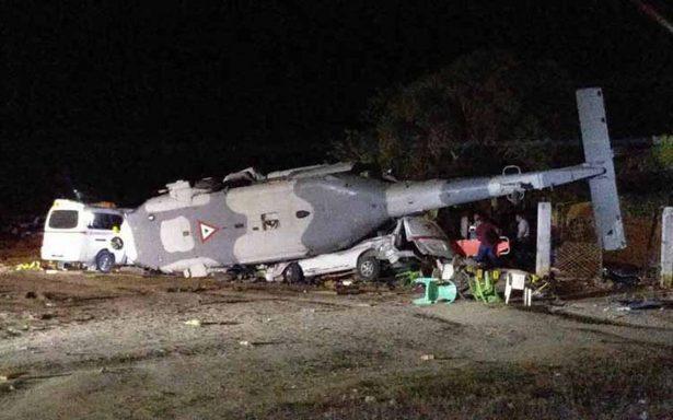 """""""No puede ser, ay Dios mío"""", el alcalde de Jamiltepec narró en vivo la caída del helicóptero"""
