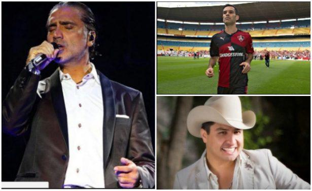 El Potrillo muestra su apoyo a Julión Álvarez y Rafa Márquez