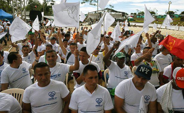 Rebeldes de las FARC dicen adiós a las armas después de 53 años de guerra