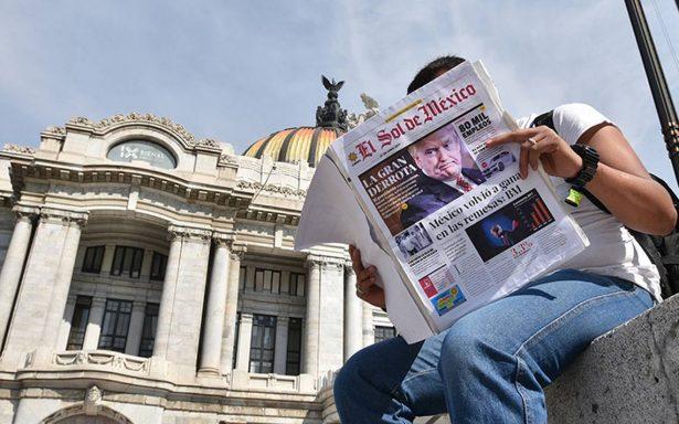 """El Sol de México busca ser un gran """"hub"""" que no tema a la crisis del papel"""
