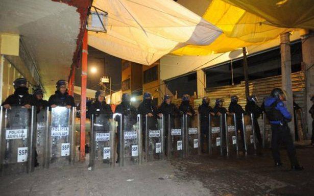 PGR desmantela  narcotienditas en la colonia Morelos