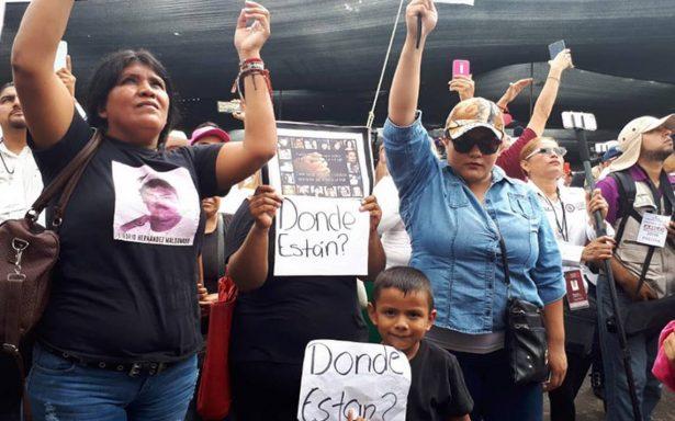 Familiares de desaparecidos en Tamaulipas piden ayuda a AMLO
