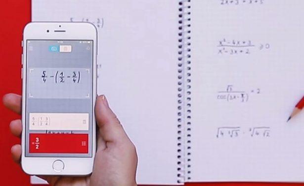 Crean app que resuelve operaciones matemáticas al escanearlas con la cámara