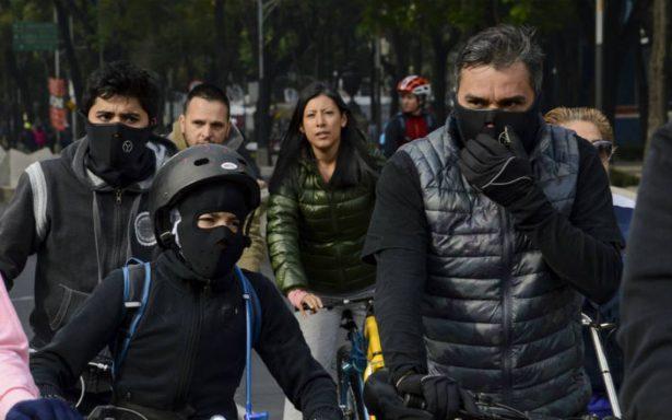 Emiten alerta amarilla por frío en cinco delegaciones capitalinas