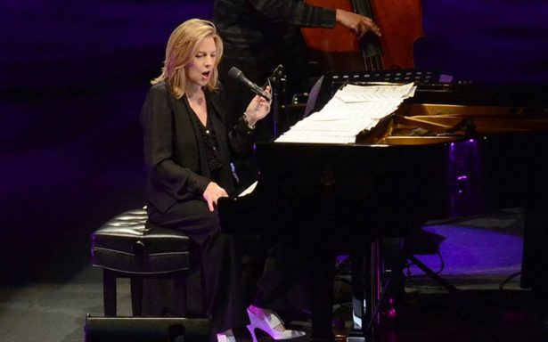 La pianista Diana Krall ofreció concierto en el Auditorio Nacional