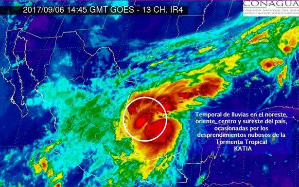 Prevén que Katia se convertirá en huracán e impactará a Veracruz
