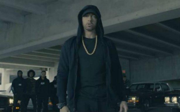 """[Video] Eminem arremete contra el """"racista"""" Trump"""