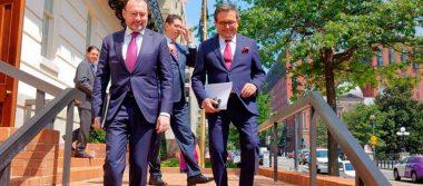 México y EU reanudan renegociación del TLCAN en Washington