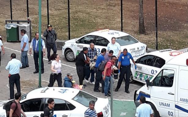 Reportan balacera en la UNAM, en la Ciudad de México
