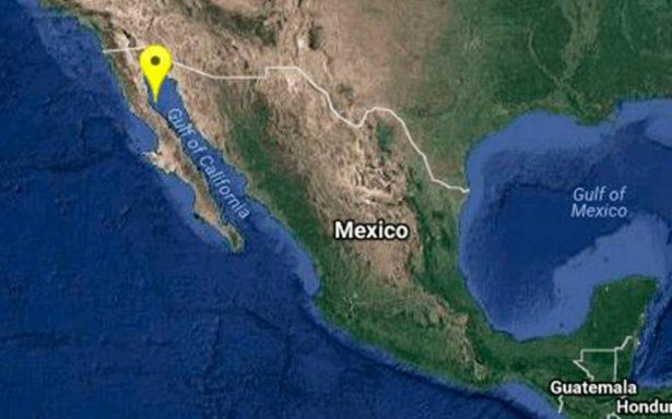 Reportan sismos en Baja California y Sonora