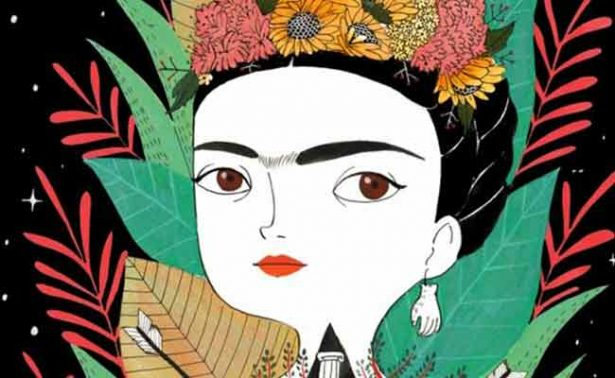 Álbum ilustrado destaca fiesta, color y vida en obra de Frida Kahlo