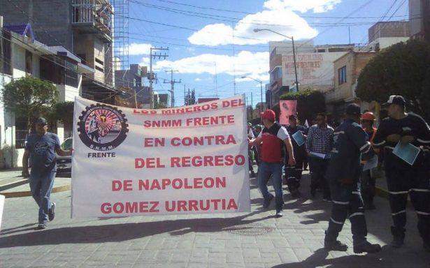 Mineros exhortan a voto de castigo contra AMLO en Fresnillo