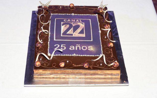 Un estilo muy cultural: Canal 22 celebra 25 años con un documental