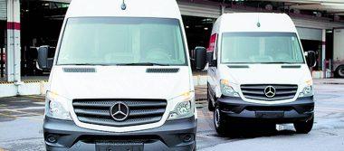 Mensajería en minutos gracias a Mercedes-Benz