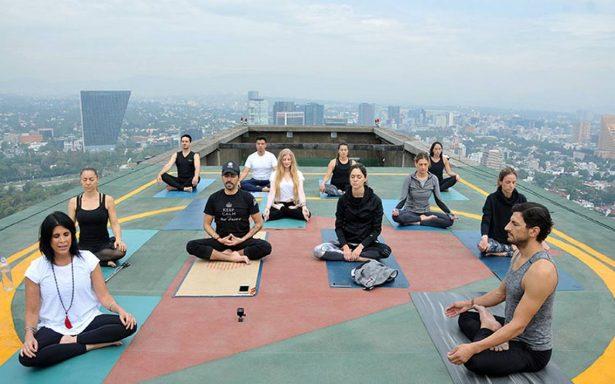 En el marco del Día Internacional del Yoga organizan master class en hotel de Polanco