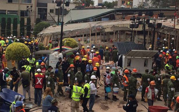 No hay una niña Frida Sofía atrapada bajo escombros de colegio Rébsamen: Semar