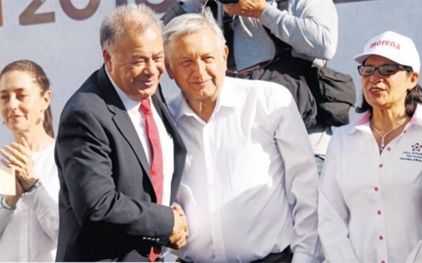 El candidato Andrés Manuel López Obrador está dispuesto a continuar con el Nuevo Aeropuerto Internacional de la Ciudad de México