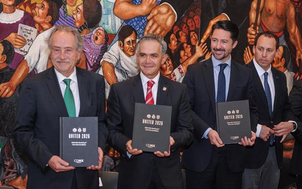 CDMX, la primera en presentarse oficialmente para ser sede del Mundial 2026