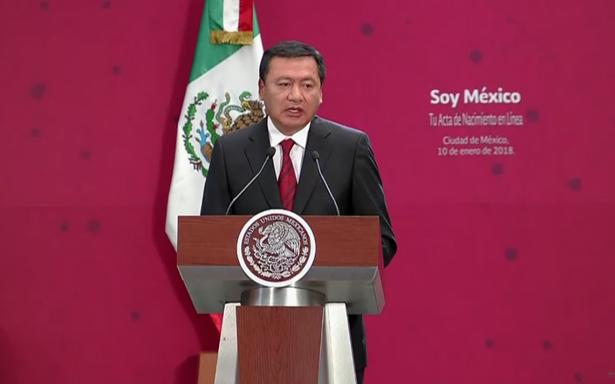 Osorio Chong anuncia su renuncia a la Secretaría de Gobernación