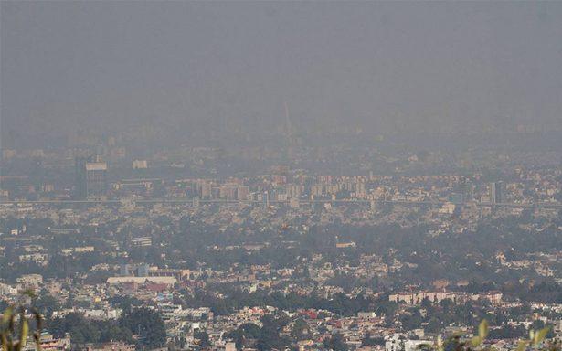 Ecatepec, el más contaminado esta mañana