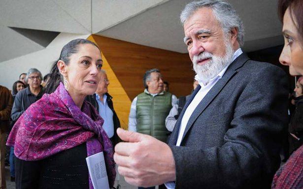 Encinas coordinará la campaña de Sheinbaum para gobernar la CDMX