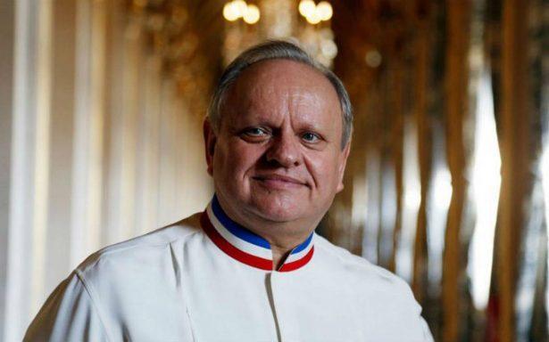 Fallece de cáncer el chef francés, Joel Robuchon
