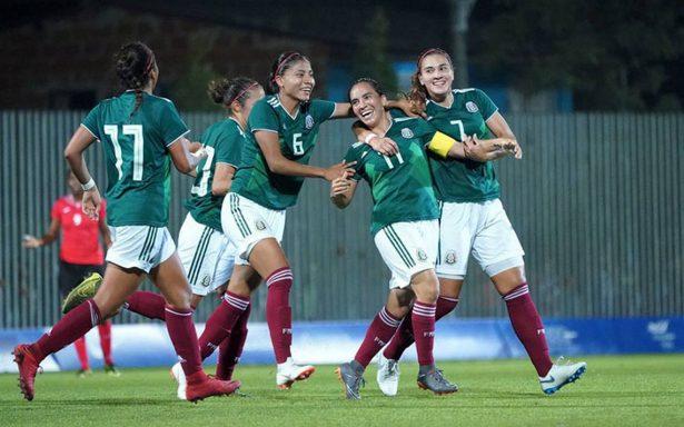 El Tricolor Femenil brilló en su debut en los Juegos Centroamericanos