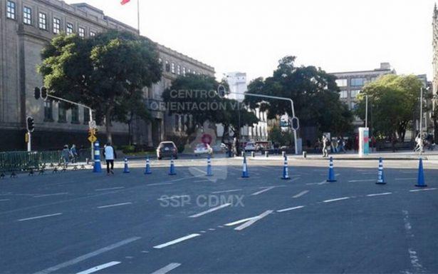 Aquí las alternativas viales ante cierre de calles aledañas al Zócalo por megaconcierto