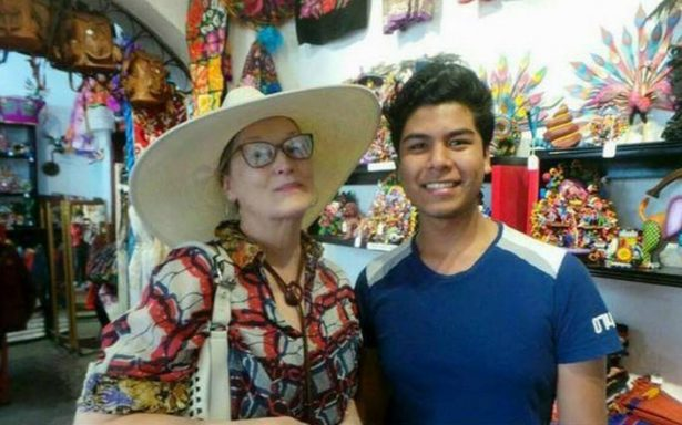 Meryl Streep disfruta sus vacaciones en San Miguel de Allende
