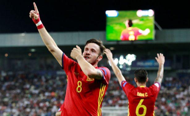 Saúl y su liderazgo meten a España en la final de la Euro Sub21