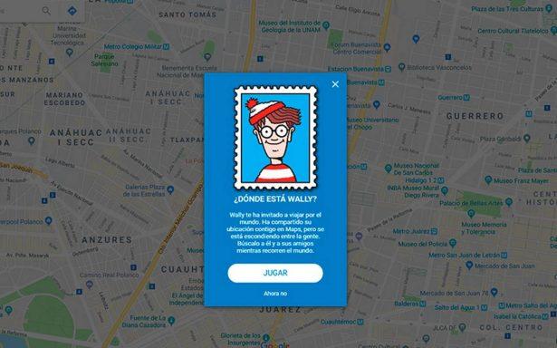 ¿Ya encontraste a Wally? Aquí te decimos cómo jugar en Google Maps