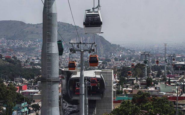 Mexicable suspende servicio por quinta vez a dos años de ser inaugurado