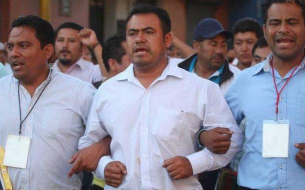 Maestros de la CNTE exigen auditoría a exdirector del IEEPO